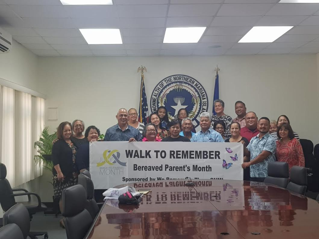 2019 Bereaved Parents Awareness Proclamation Signing July 25