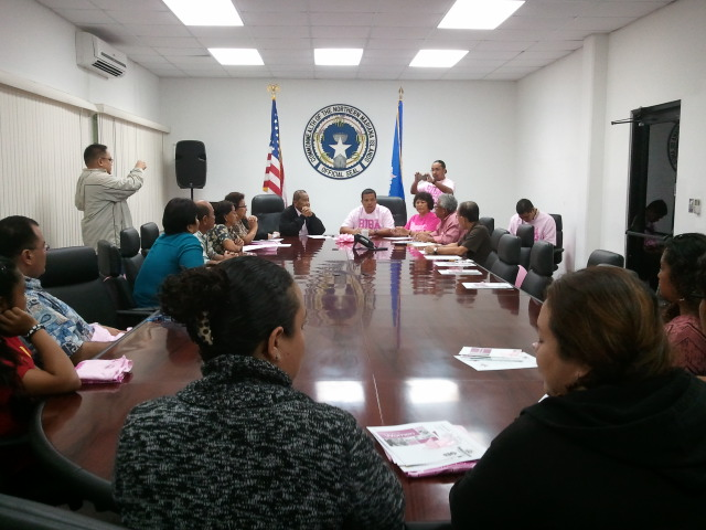 2014 Breast Cancer Awareness Proclamation Signing Image
